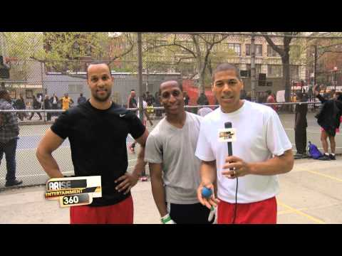 "Arise: New York's newest sport, ""Wall Ball!"""