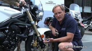 9. 2008 Triumph Street Triple Suspension Evaluation