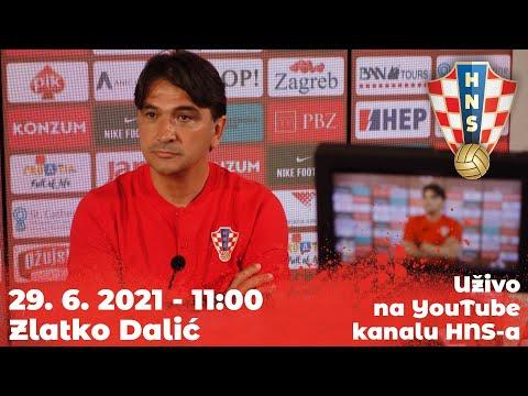 Konferencija za medije (Dalić) 29.06.2021. 11:00 Rovinj