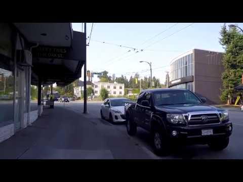 Walking in Vancouver Canada - OAK Street - Morning Walk in City 2018