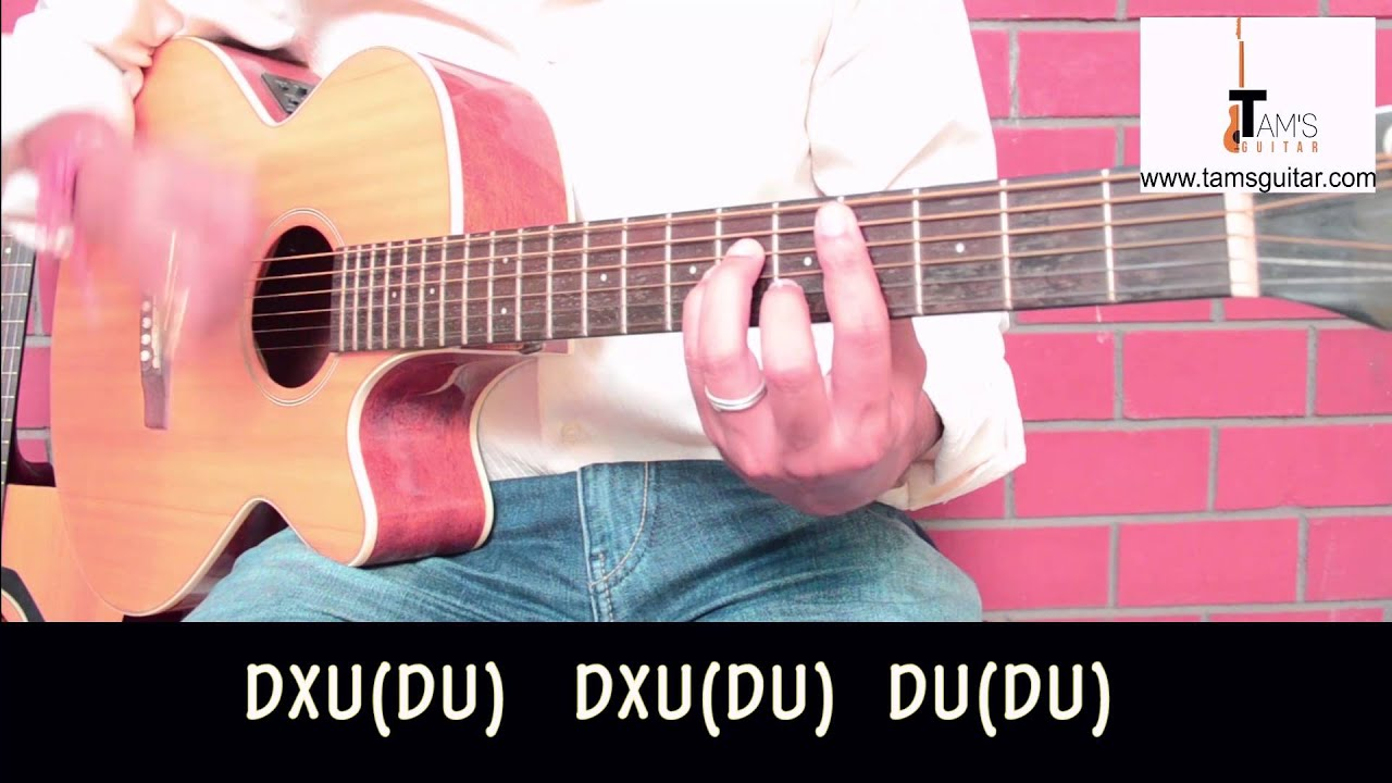3 Bollywood strumming patterns on guitar you should know