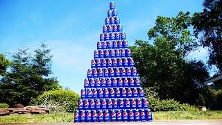 I built a huge pepsi tower and smashed it! What a fun experiment!FACEBOOK:https://www.facebook.com/techraxTWITTER:https://twitter.com/techrax INSTAGRAM: http://instagram.com/techrax