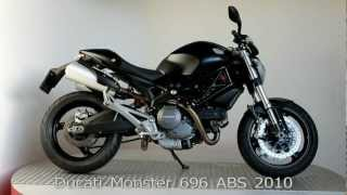 9. Ducati Monster 696 ABS 2010