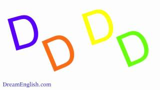 The Letter D, Easy Phonics for Kids