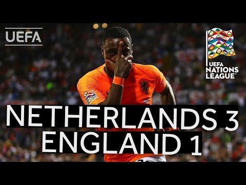 NETHERLANDS 3-1 ENGLAND #UNL FINALS HIGHLIGHTS