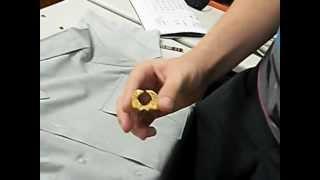 How to set up a male JROTC uniform