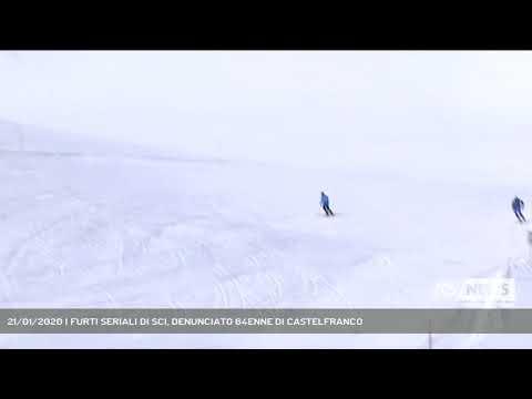 21/01/2020 | FURTI SERIALI DI SCI, DENUNCIATO 64ENNE DI CASTELFRANCO