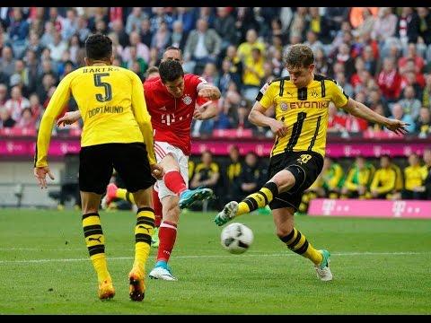 Bayern Munich VS Borussia Dortmund 2-3 All Goals highlights 2017