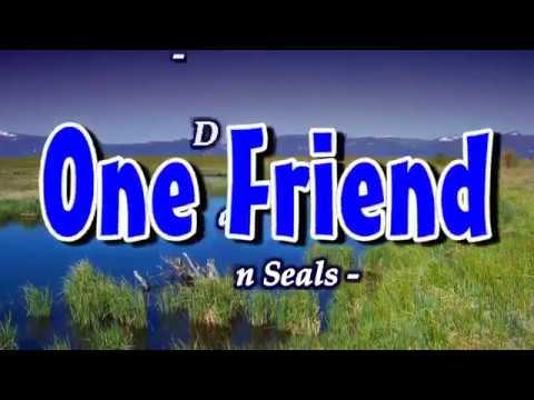 One Friend (Karaoke Lyrics) - Dan Seals
