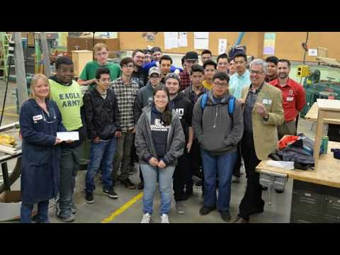 ProSales - HRVHS Woodshop Presentation