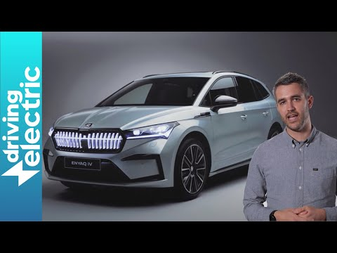 Skoda Enyaq iV – exclusive first look and walkaround of new electric Skoda SUV – DrivingElectric