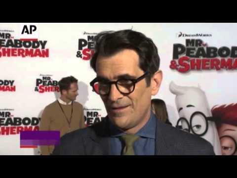 family - http://smarturl.it/AssociatedPress Ty Burrell reveals the reason why he got the voice acting gig for
