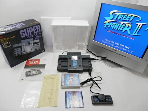 Super Grafx + Street Fighter 2