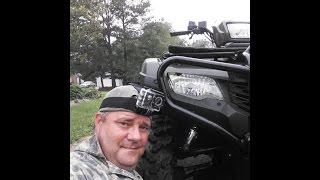 6. 2014 Honda Foreman 500 4x4  With SJ4000 Action Cam And Checking Deer Cameras Nice Bucks With KVUSMC