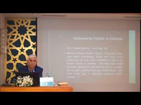 """Prof. Dr. Ahmet Zeki ÜNAL ile """"ROGER GARAUDY"""" Konulu Seminer"""