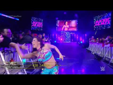 Mickie James' entrance  NXT TakeOver  Toronto   sup figst wwe videos