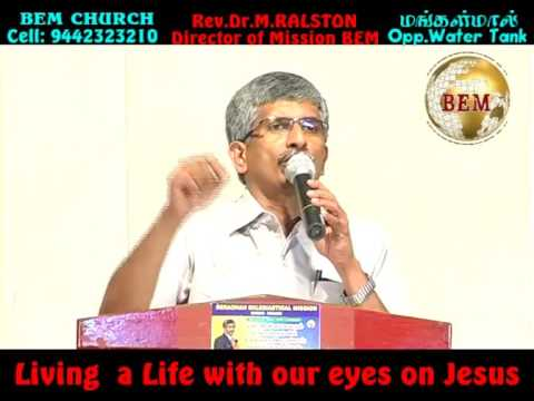 Living A Life With Our Eyes On Jesus