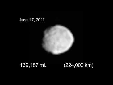 Dawn approaches Vesta (movie as of June 20, 2011)