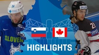Словения - Канада 2-7
