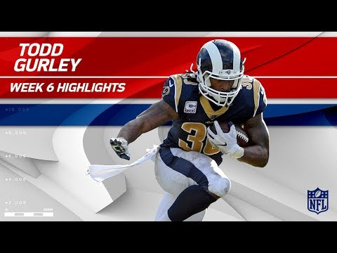 Video: Todd Gurley's Great Game w/ 23 Carries & 116 Yards! | Rams vs. Jaguars | Wk 6 Player Highlights
