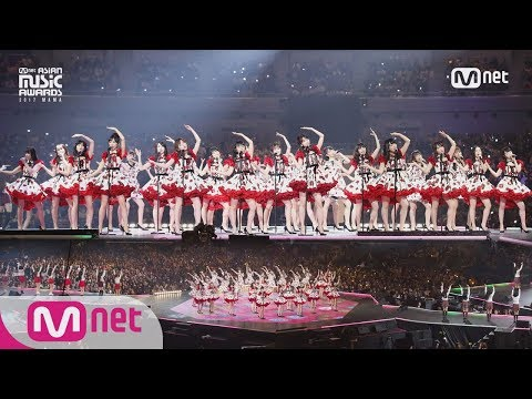 [2017 MAMA in Japan] AKB48&CHUNG HA&Weki Meki&PRISTIN&fromis_9&Idol School Class 1_IT'S SHOWTIME