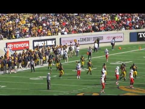 Kameron Jackson big hit vs Arizona 2013 video.