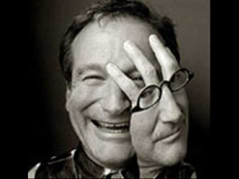 The many faces of Robin Williams.