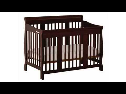 , title : 'Convertible Crib | Stork Craft Tuscany 4-in-1, Espresso Review'