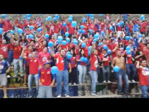 3 Canciones: Tigre mi buen amigo, Dale FAS, Elefante sin awante (Gol 0-1) - Turba Roja - Deportivo FAS