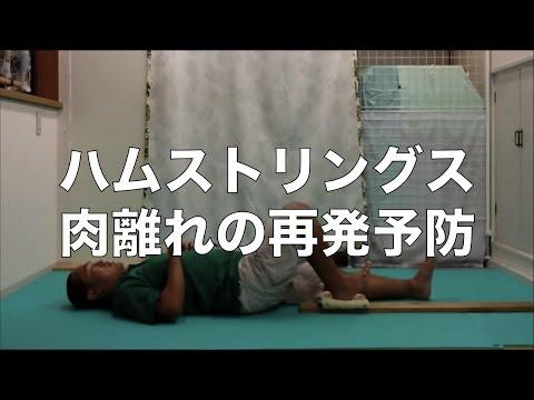 【怪我に備えよう!】ハムストリングス肉離れの予防トレーニング3種目