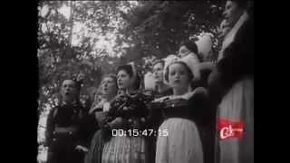 Film de Marcel Cachin (directeur de l'Humanité), le dimanche 7 août 1938, à Pont-l'Abbé, lors la fête du Parti communiste et du Front populaire. Plus de 10.0...
