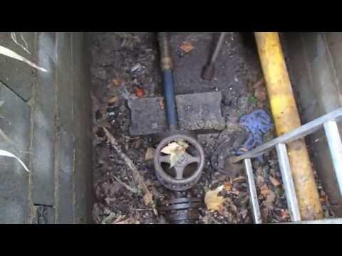 comment localiser une fuite d'eau dans une canalisation enterrée