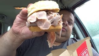 Video Arby's Half Pound Roast Beef Sandwich & Review | Eating Show MP3, 3GP, MP4, WEBM, AVI, FLV Juli 2018