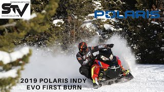 8. 2019 Polaris Indy Evo First Burn