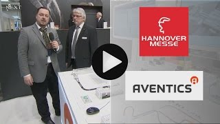 ke NEXT TV visits the new booth of Aventics at Hannover Fair 2015