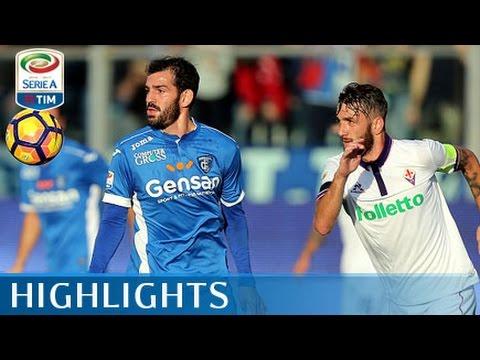 Empoli - Fiorentina - 0-4 - Highlights - Giornata 13 - Serie A TIM 2016/17