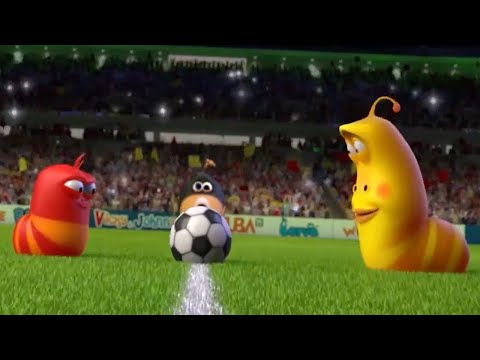 LARVA - THE LARVA WORLD CUP SONG | 2018 Cartoon | Cartoons For Children | WildBrain Cartoons