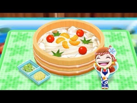 Cooking Somen Noodle - Android Gameplay - Cooking Mama Let's Cook #70 - No Commentary