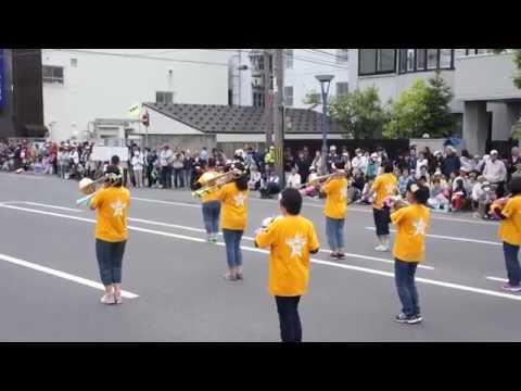 北海道音楽大行進2015・旭川市立広陵中学校