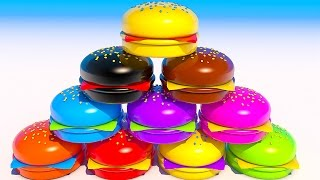 Video Teach Colors with Hamburgers Learning for Kids and Children MP3, 3GP, MP4, WEBM, AVI, FLV Mei 2017