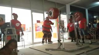 New world record 440 kg.