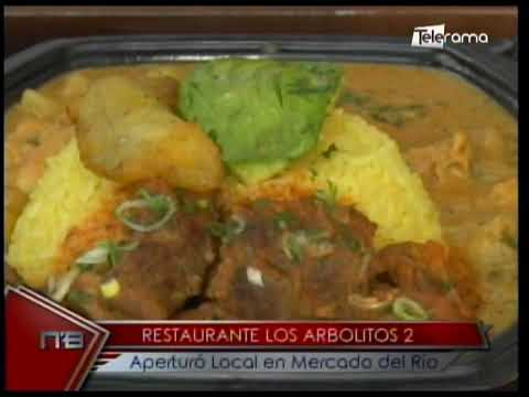 Restaurante Los Arbolitos 2 aperturó local en Mercado del Río