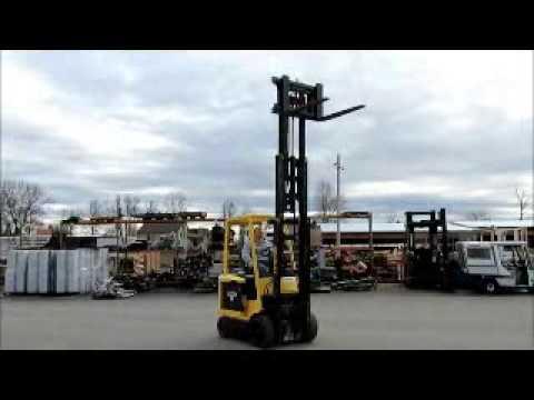 Sold! Hyster E45XM Electric 4 Wheel Forklift Lift Truck 36V-DC bidadoo.com