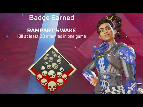 This is why Rampart is the BEST LEGEND in Season 6! (Apex Legends)