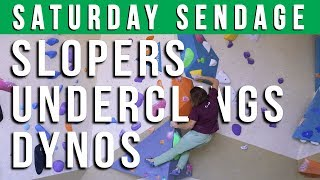 Saturday Sendage; Slopers, Underclings and Double Clutch Dynos with Dennis- Episode 14 by Verticalife