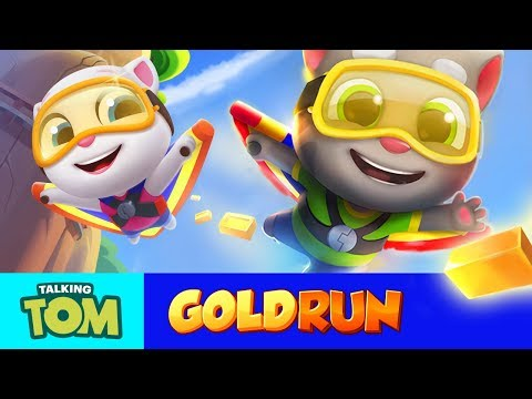 🔥FLY HIGH in Talking Tom Gold Run (Official Trailer)