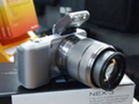 Sony NEX 3 Review, Unboxing and Hands On
