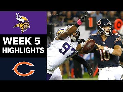 Vikings vs. Bears | NFL Week 5 Game Highlights - Thời lượng: 7:33.