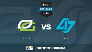 OpTic vs CLG - ESL Pro League S6 NA - de_train [MintGod, ceh9]