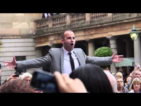 Watch: Hundreds perform in 'Va, pensiero' flashmob in Covent Garden Piazza
